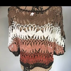 Tops - 2 pieces- Boho style macrame top & tank